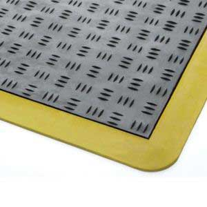 Euro Mat With Yellow bevelled edges