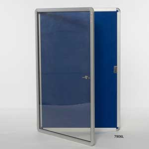 Lockable Noticeboard - 7906L