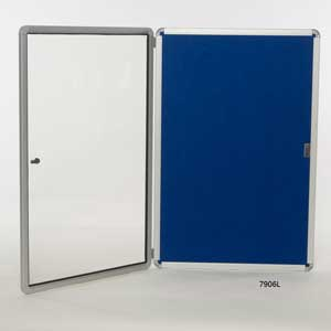 Open Lockable Noticeboard - 7906L