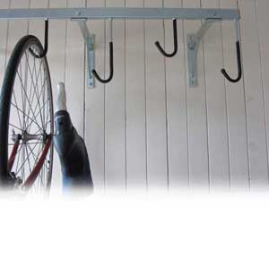 Vertical 4 Bike Cycle Rack