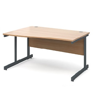 CO14WLG Wave Desk