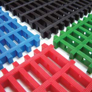 Cobamat Inter Pvc Matting With 30mm X 10mm Holes Per