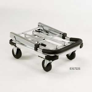 Folded Aluminium Trolley - E317221