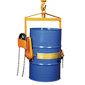 Vertical drum lifters, for 210 litre drums