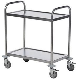 Economy stainless steel trolleys