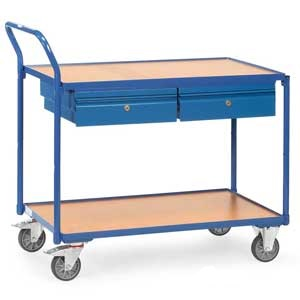 E394196 Table Top Trolley Angled Handle