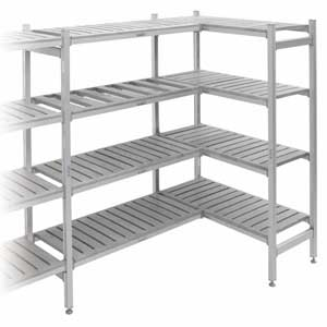 Eko fit 1700mm high shelving bays - starter and extension bays
