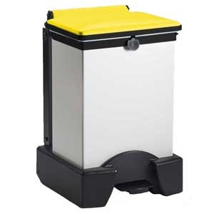 FSH45 Plastic Sackholder With Yellow Lid