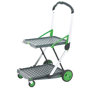 Folding Office Trolley - 60kg Capacity With One Folding Box