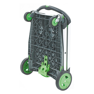 Folded Plastic / Aluminium Folding Trolley