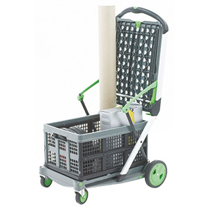 Folding Trolley In Use