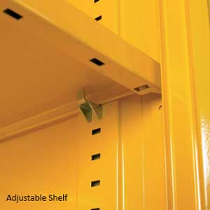Hazardous Substance Cupboards - Adjustable Shelves