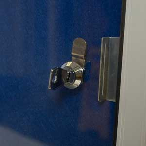 Lock Supplied With Each Lockable Noticeboard