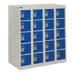 Personal Effects Storage Lockers - 20 Compartment Low Locker