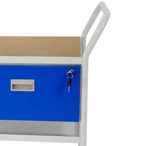 Mobile Maintenance Trolley With MDF Top