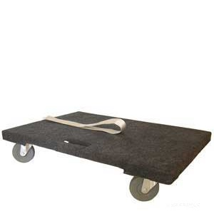 Padded Dolly With Pull Along Strap For Easier Transportation