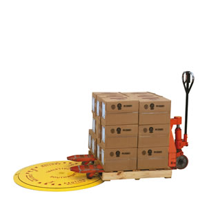 Pal-Disc Pallet Turntable In Use