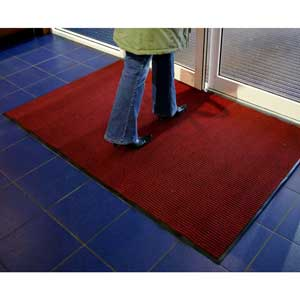 Entrance Mat - Tough Rib Red