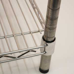 Stainless Steel Wire Shelving Shelf Joint