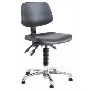 Polyurethane Cushioned Swivel Task Chairs