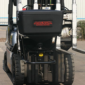 Forklift Attachment and Salt Spreader