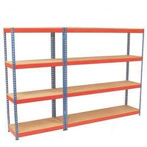 Heavy Rivet Shelving - 4 Shelves 500Kg UDL