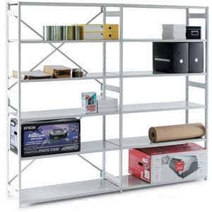 Mono Shelving Extension Bay with 6 or 7 Shelves