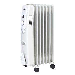 Sealey Oil Filled Radiator 1500W