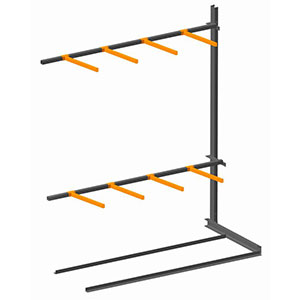 Vertical Storage Rack Single Sided Extension Bay