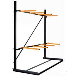 Vertical Storage Rack Single Sided Starter Bay