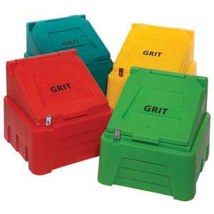 Grit Bin colour selection - Blue and Black not shown
