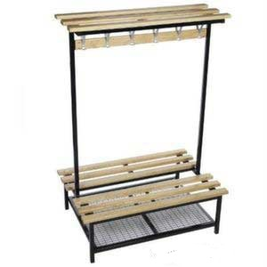 Versa Square Frame Double Sided Bench With Optional Shoe Rack