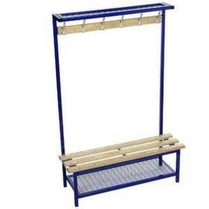 Versa Square Frame Single Sided Bench With Optional Shoe Rack