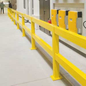 Impact Protection Railing Run