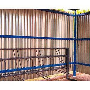 Galvanised Corrugated Panels