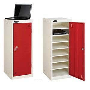 Low 8 Compartment Probe Lockers