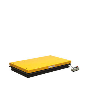Static lift tables, capacity 1000 kg