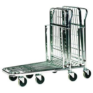 nesting stock trolley, stacked