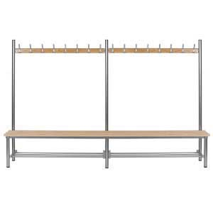 3m bench with shoe rack