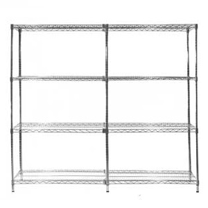 Chrome Wire Shelving - Starter & Extension Bay