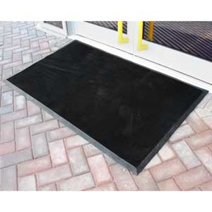 Fingertip Rubber Doormat