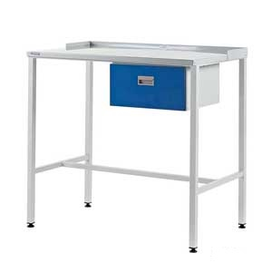 Flat Top Single Drawer Team Leader Workstation