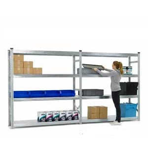 Heavy Duty Supershelf Longspan Shelving Bays - Starter & Extension Bay