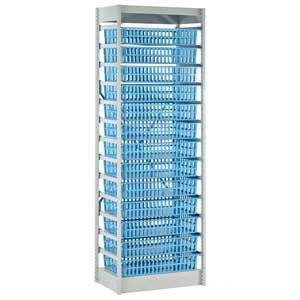 HTM71 Storage System - 600mm Wide With 13 Baskets