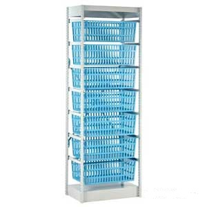 HTM71 Storage System - 600mm Wide with 7 Baskets