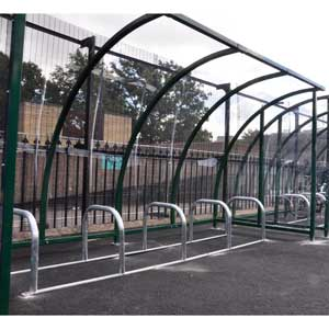 Kenilworth Powder Coated Cycle Shelter