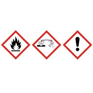 Labels Supplied With Each Hazardous Substance Cupboards
