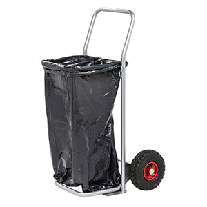 Mobile Open Top Sack Holder (sacks not included)