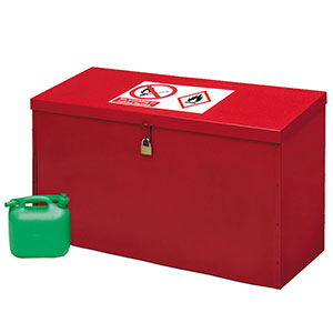 Petroleum and Flammable Liquid Storage Floor Chest