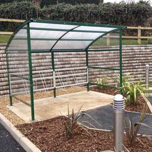 Premier Cycle Shelter With Perspex Side Panels
